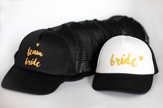 NOWY zestaw czapek z daszkiem gadżet na wieczór panieński