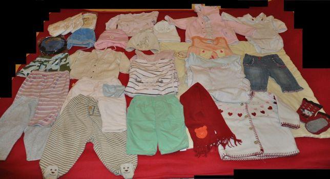 Śpiochy 56-68,spodnie, sweter,body, bluza,spódnica, czapki,paka,zestaw