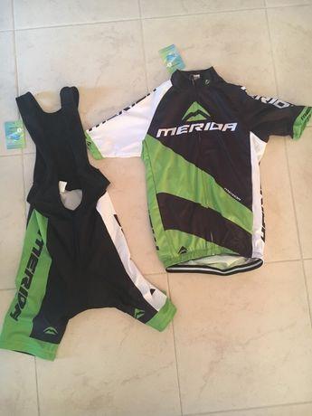 Conjunto jersey ciclismo Merida