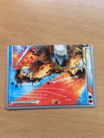 Suicune & Entei (Bottom) - Carta Pokémon Rara