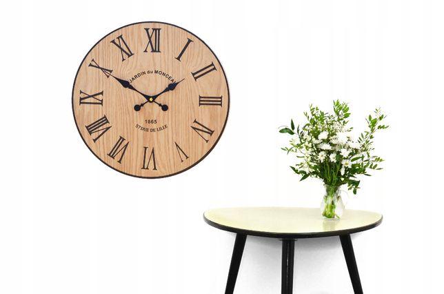 Zegar ścienny loft 40 cm
