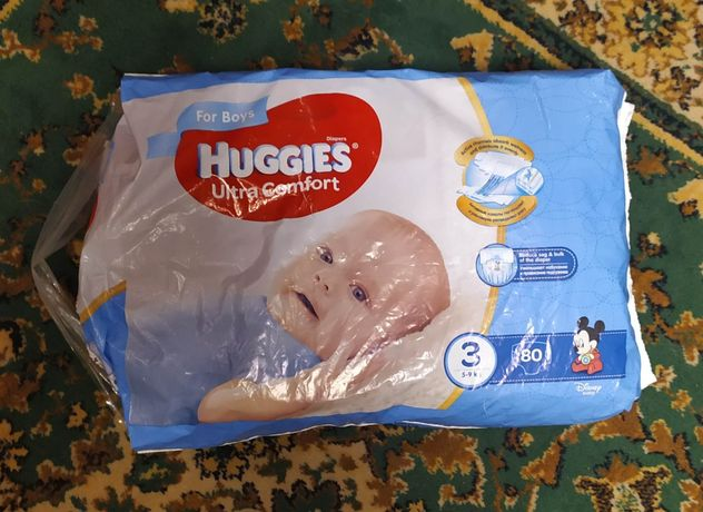 Продам подгузники Huggies Ultra Comfort