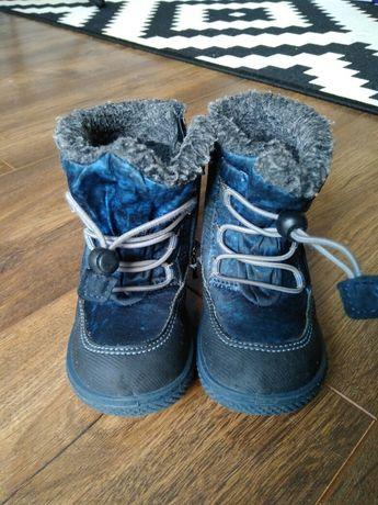 Buty zimowe śniegowce dziecięce rozm.22 Primigi ocieplane Gore Tex