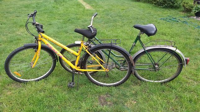 Rower- uszkodzony