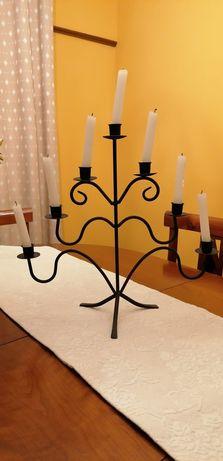 Castiçal com 7 velas