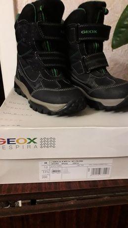 Продам зимние сапоги GEOX размер 30 в отличном  состоянии.