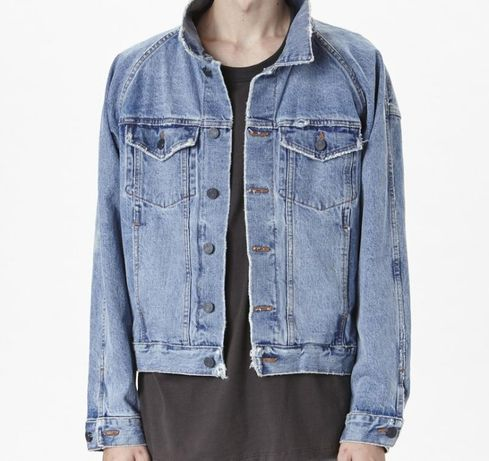 Denim jacket fear of god oversized casaco ganga