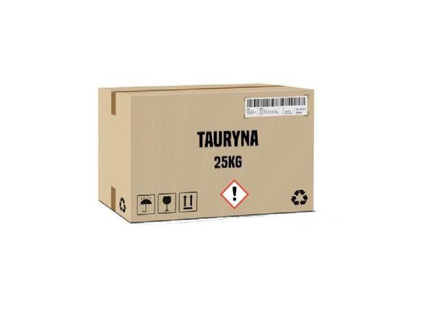 Tauryna karton 25 kg 99% - wysyłka cała Polska
