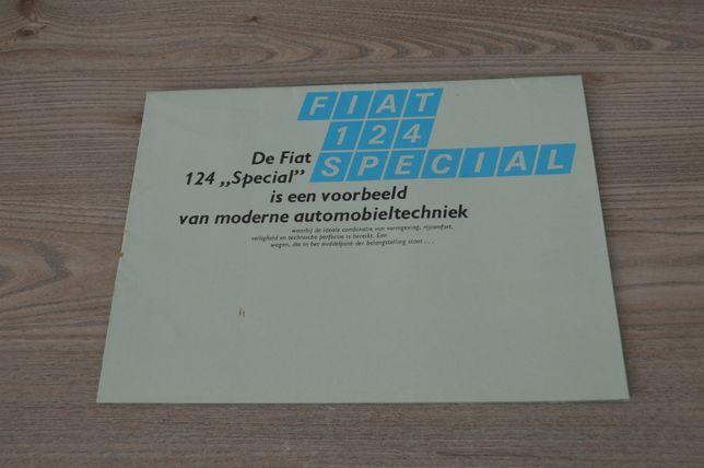 Fiat 124 Special 1970 Prospekt Katalog
