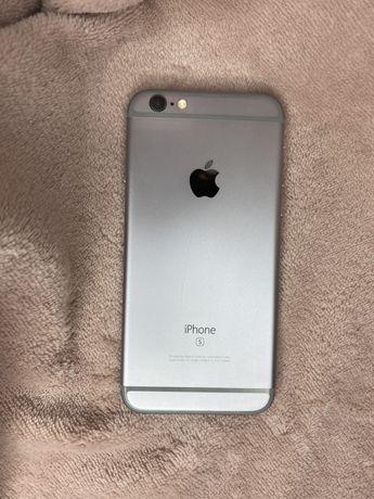 Apple iPhone 6s 32 GB silver stan nowego + nowy etui gratis