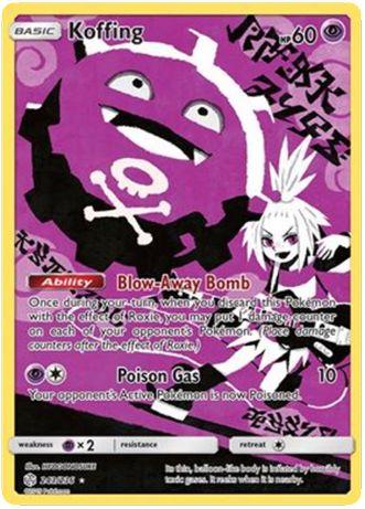 Karta Pokemon TCG Cosmic Eclipse Koffing 243/236 - nowa!