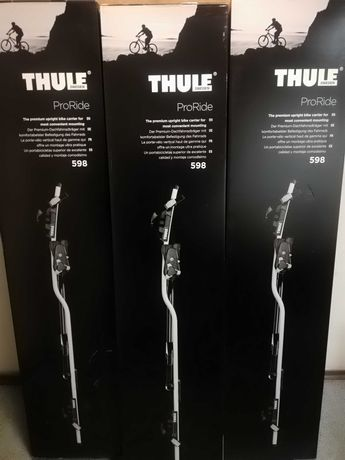 Thule 598 Proride Srebrny Nowy Gwarancja 5 lat