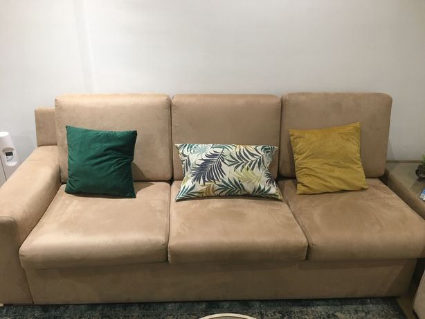 Sofá 3 lugares + Mesa