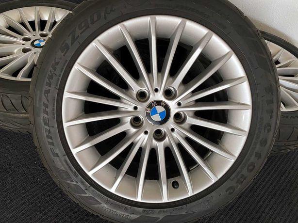 """Jantes 17"""" Originais BMW em Excelente estado com pneus"""
