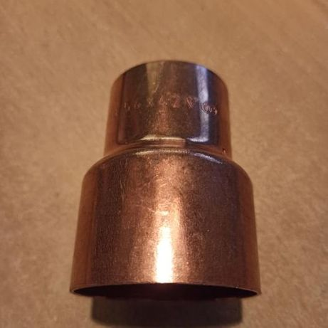 Mufa redukcyjna miedziana 54x42 mm.