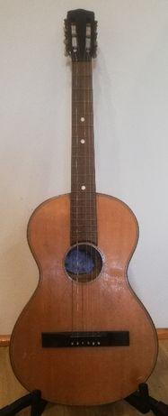 stara gitara parlor ok. 1890 rok MATTHAUS BAUER WIEN MUSIKINSTRUMENTE