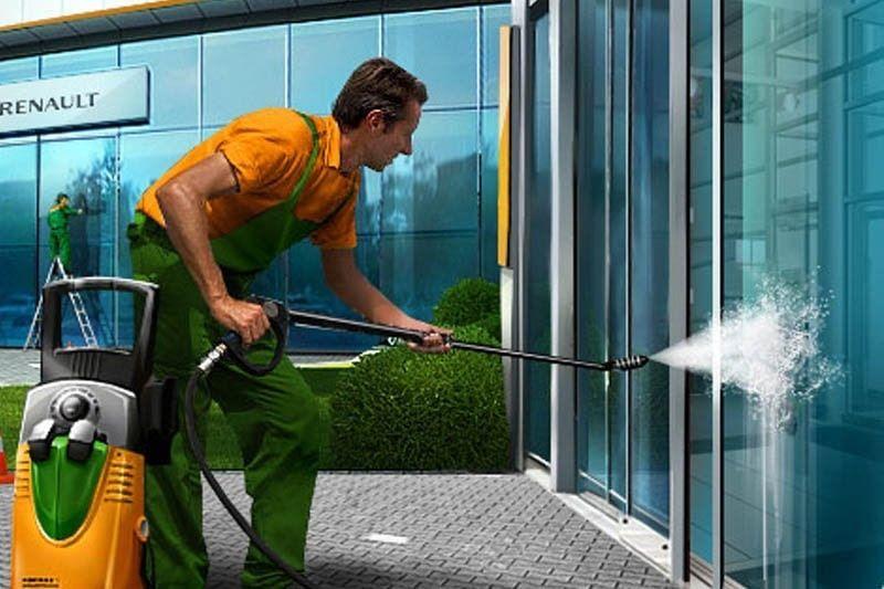 Чистка высоким давлением тротуарной плитки, фасадов, крыш Чернигов - изображение 1