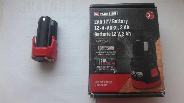 АКБ Батарея Parkside PAMFW 12 A1-1 для аккумуляторного реноватора 12V