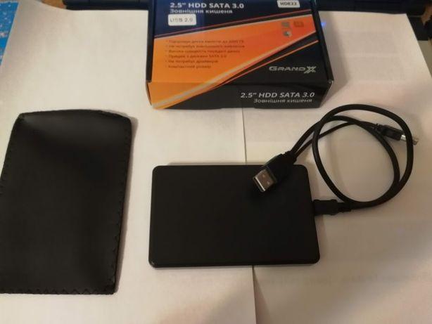 Зовнійшній диск 320Gb флешка внешний хард USB 2.0 Sata III робочий