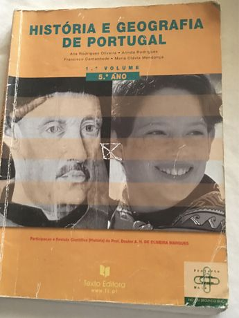 Livro em segunda mão de Historia e Geografia de Portugal 5 Ano