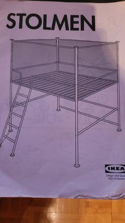 Łóżko piętrowe ikea 160x200