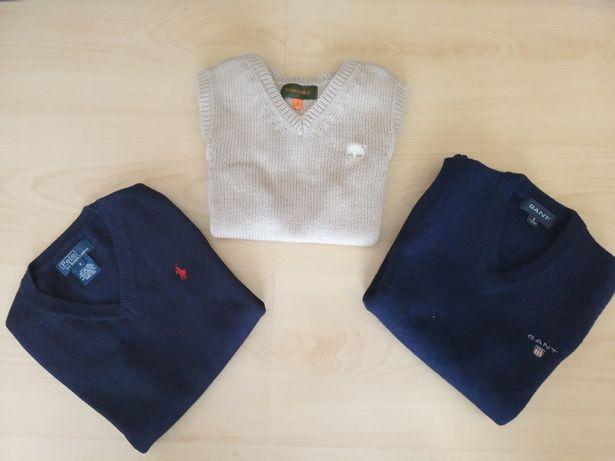 Polos sem mangas das marcas Ralph Lauren Gant Timberland 5 anos