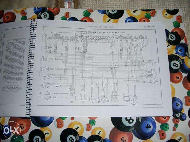 Livro completo para Yamaha XJ 600 51J (portes grátis)