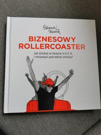 Książka Szymon Kudła Biznesowy Rollercoaster
