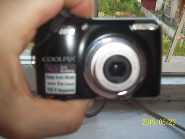 Aparat Nikon Czarny 10,1