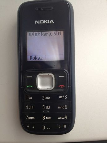 telefon komórkowy nokia 1209 stan bdb