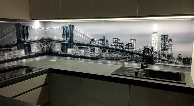 Grafika na szkle, panele szklane UV, LACOBEL, do szafy, do kuchni