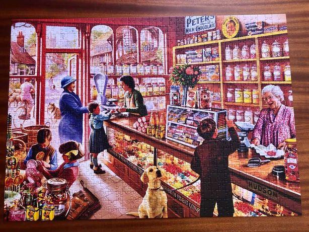 Puzzle loja Dos Doces como novo