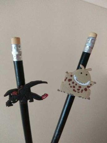 Брелок фигурка  чармик для карандаша ручки Герои Как приручить дракона