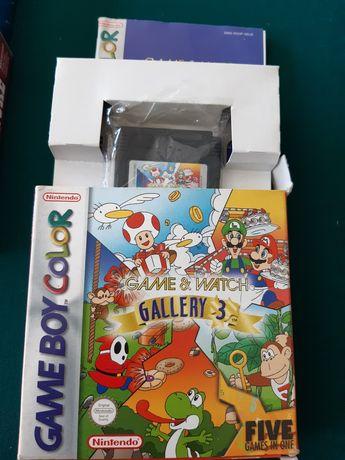 "Jogo Game Boy Color ""Game & Watch Gallery 3"""