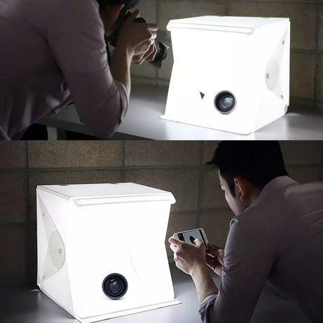 Новый Лайт бокс 40 см светобокс для фото фото бокс lightbox