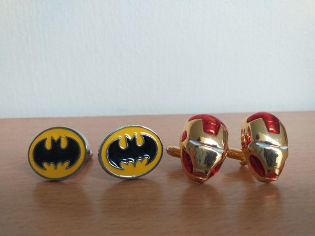Batman/Iron Man spinki do mankietów