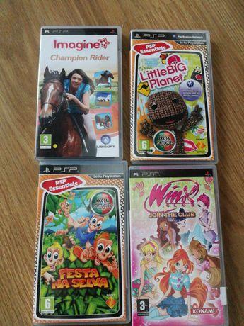 Jogos infantis PSP
