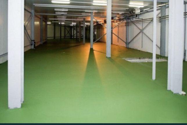 Полімерна підлога. Хім стійкі покриття. 3d підлога