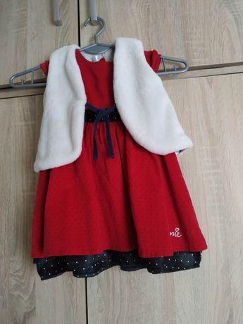Sukienka Minnie 80 + futerko Endo