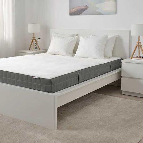 Cama casal IKEA MALM 140 x 200 + Colchão