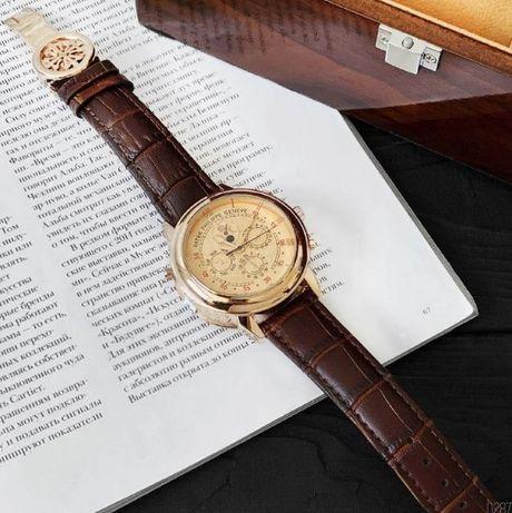 Часы мужские, Patek Philippe Sky Moon Tourbillon Топовый бренд