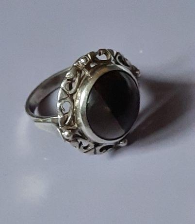 Srebrny pierścionek Jantar Sopot