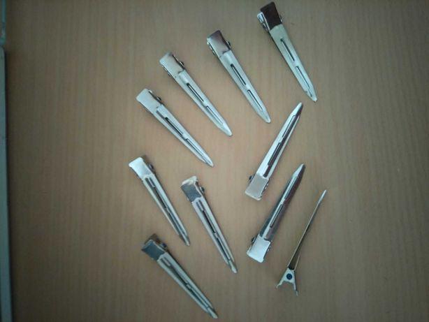 Pinças de cabelo em alumínio