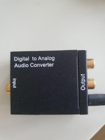 Optyczny Konwerter Coaxial Toslink RCA 2x CINCH 66