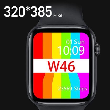 Lemfo w46 Smart watch tensão arterial ecg treino android