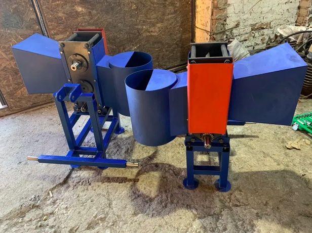 Подрібнювач гілок Измельчитель веток веткоруб 120мм + Станина ВОМ