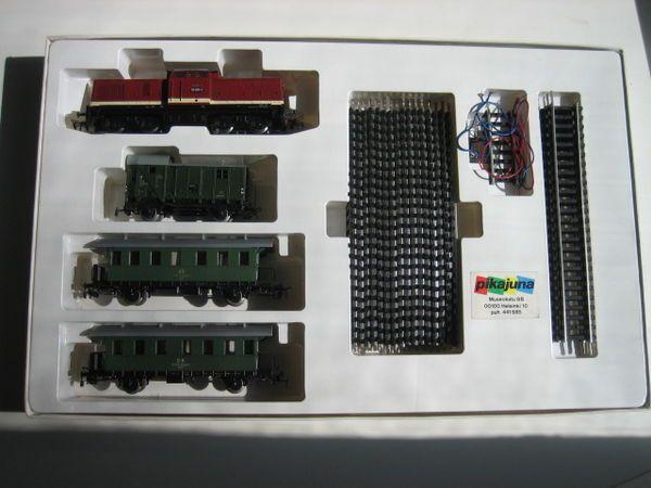 Zestaw kolejki Piko EXPERT H0 1/87 br 110 trzy wagony osobowe tory z1!