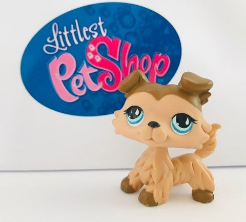 Littlest Pet Shop #853 collie unikatowy LPS