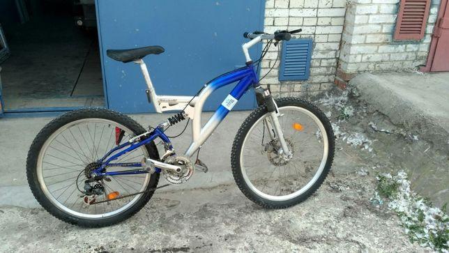 """Горний Велосипед 26"""" двох підвісний. Ровер"""