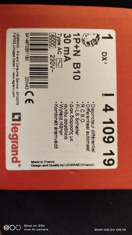 Дифавтомат Legrand DX3 АВДТ 1П+Н B25А 30MA тип AC
